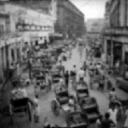 Quartier du Newmarket à Calcutta en 1976