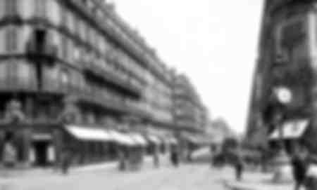 Rue La Fayette à Paris