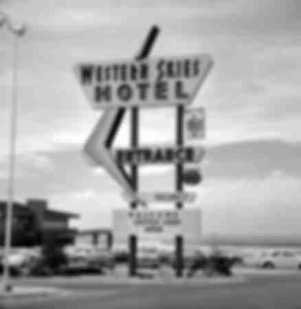 Western Skies Hotel to Albuquerque in 1964