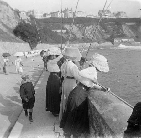 Biarritz - Partie de pêche