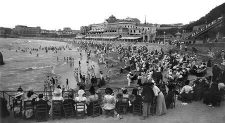Biarritz vers 1900