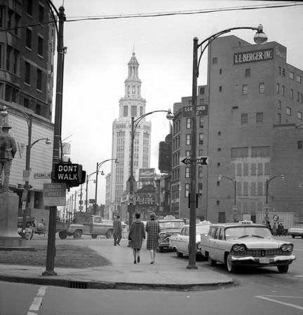 Buffalo à New-York en 1964