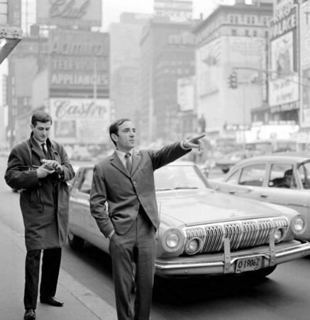 Charles Aznavour in New York