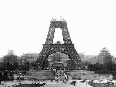 Construction de la tour Eiffel
