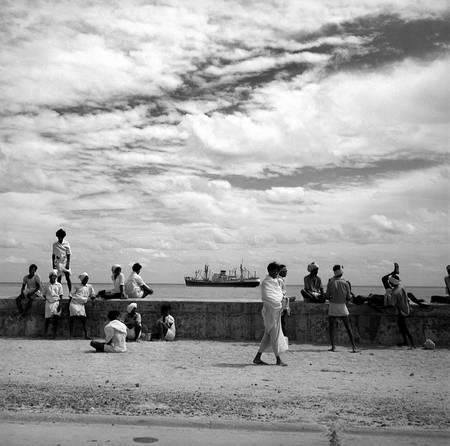 Le banchine di Pondicherry 1961
