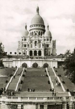 Paris - La Basilique du Sacré-Coeur de Montmartre