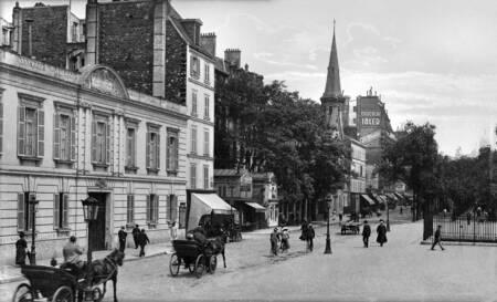 Paris boulevard des Batignolles