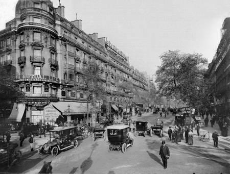 Paris boulevard Montmartre