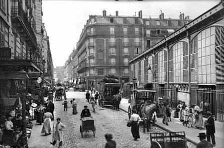 Paris rue des Moines