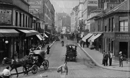 Paris rue du Commerce