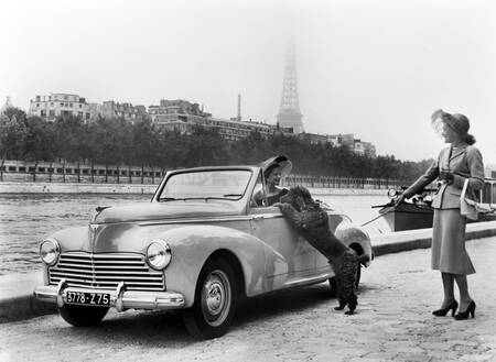 Paris Auto Show in the 50's