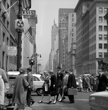 Passage piétons à New-York
