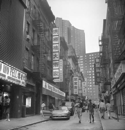 Quartier de Chinatown 1990