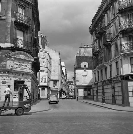 Rue des Ecouffes nel Marais