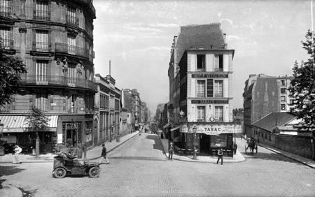 Rues de Crimée et de Lorrain