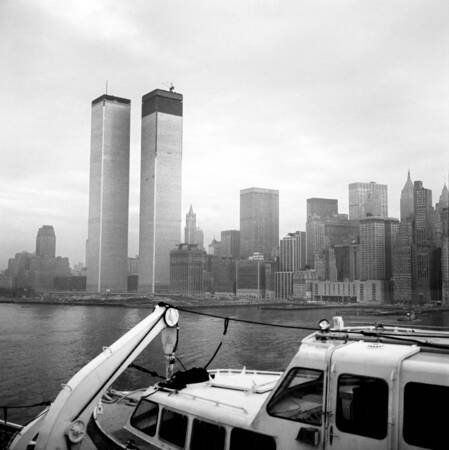 Vue sur le World Trade Center