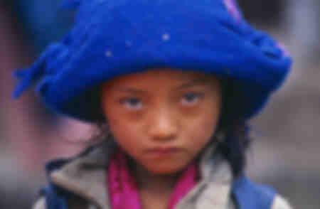 Tamang ethnic girl