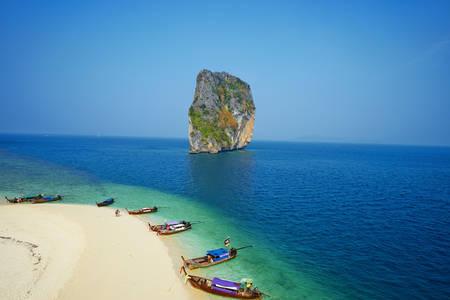 Ile de Ko Poda en Thaïlande