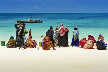 Nungwi beach fishing