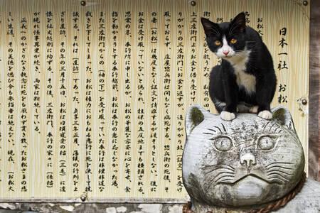 Temple sanctuaire dédié aux chats