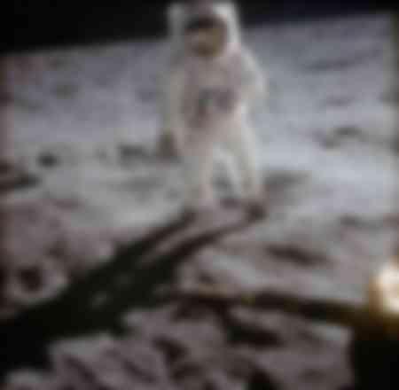 Aldrin op de maan - 2