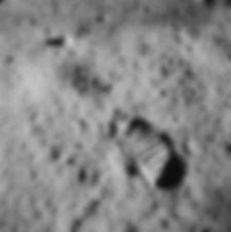 Empreinte lunaire