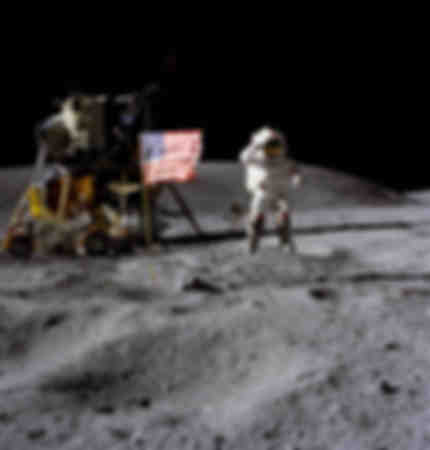 L'astronaute John W Young