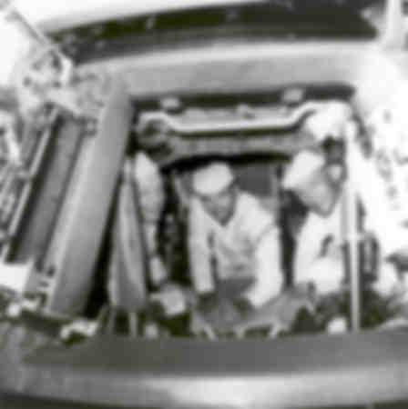 The crew of Apollo 11