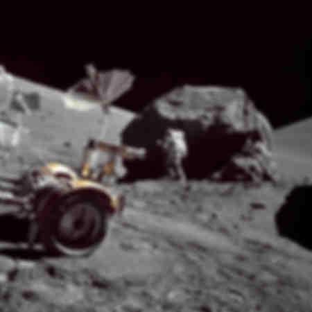 El geólogo y astronauta Harrison H Schmitt