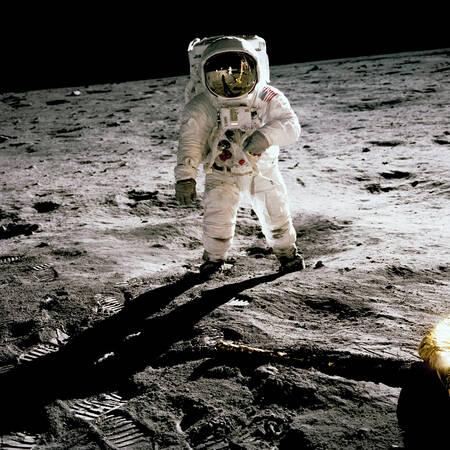 Aldrin sur la Lune