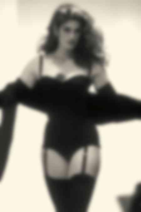 Cindy Crawford défilé Dolce Gabanna
