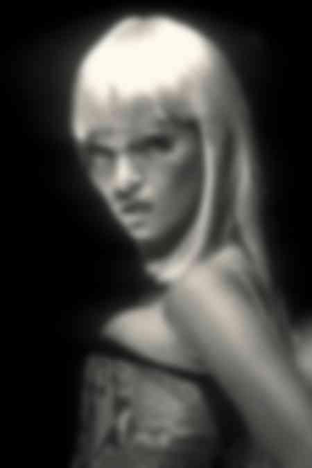 Kate Moss - Pintura de cara