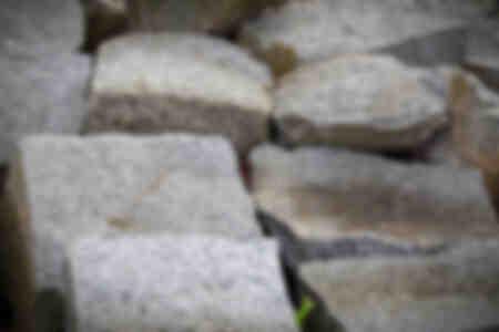 Blocks of kersantite
