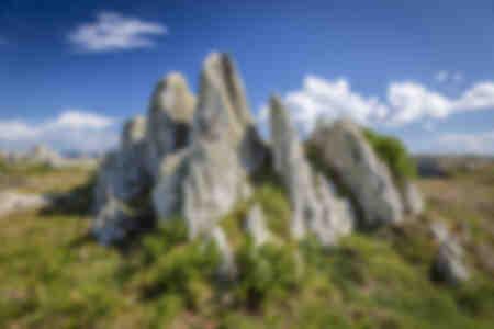 de rotsen van Keridreux in Ouessant