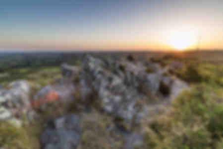 Lever de soleil sur Roc'h Trévézel