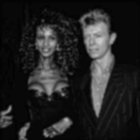 Iman and David Bowie at the Music Festival