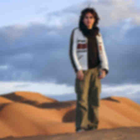 Jean Michel Jarre in the dunes of Zagora