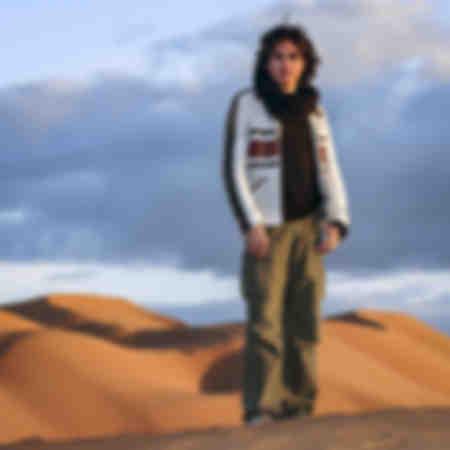 Jean Michel Jarre i Zagoras sanddyner
