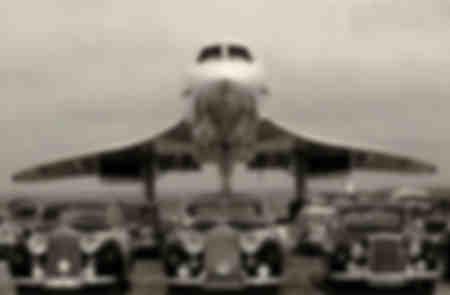 El Concorde y el Rolls Royce