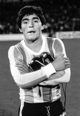 Diego Maradona - Match Pays Bas vs Argentine 1979