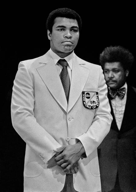 Le Boxeur Mohamed Ali and Don king