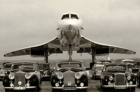 The Concorde and the Rolls Royce