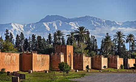 The Ramparts of Marrakech