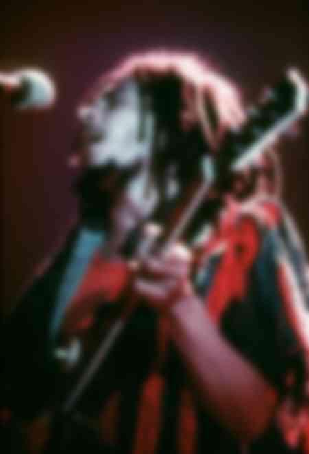 Bob Marley sul palco di Hammersmith Odeon