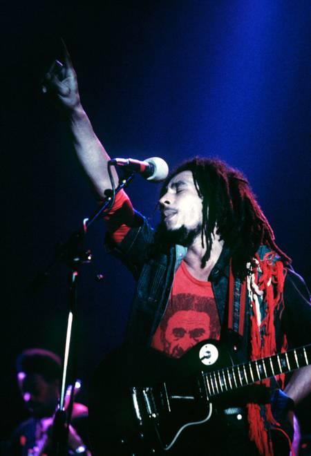 Bob Marley en 1977