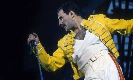 Freddie Mercury en 1986 à Londres