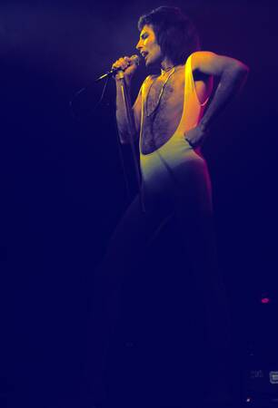 Freddie Mercury Queen Hyde Park