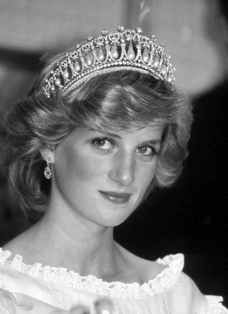 Princess Diana at Aukland in 1983