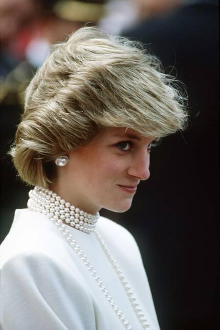 La Princesse Diana le 30 juin 1983