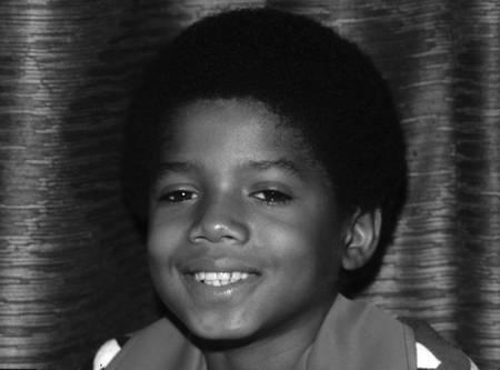 Il giovane Michael Jackson intorno al 1971